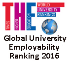 Global University Employability Ranking 2016 (Times Higher Education)